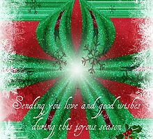 Seasons Greetings - Merry Christmas - greeting card/holiday by Scott Mitchell
