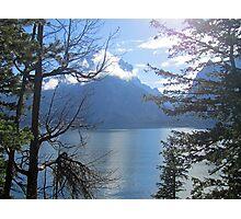 Peek-a-lake 2 Photographic Print
