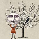 moon girl by beverlylefevre