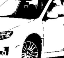 Subaru WRX STI 2011 Sticker