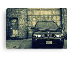Whipping Lights Canvas Print