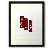 Abstract Simplicity Framed Print