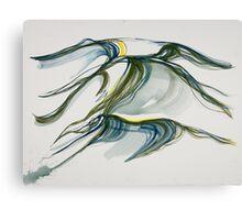 "Rolling, ""Deep Calls to Deep"" Ocean series Canvas Print"