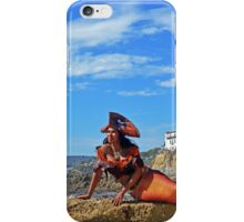 Caribbean Pearl at the Pirate Tower iPhone Case/Skin