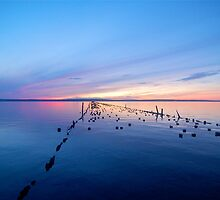 Lake Superior Sunset by MelMon8