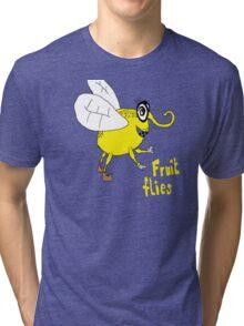 Fruit flies Tri-blend T-Shirt
