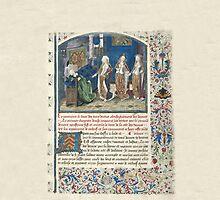 Medieval Illuminated Manuscript: Christine de Pizan, Le Livre des Trois Vertus. by SexyCodicology