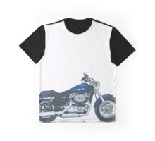 Illustrated Graphic Tee - Harley Sportster 1200 Graphic T-Shirt
