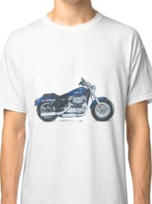 Illustrated Graphic Tee - Harley Sportster 1200 Classic T-Shirt
