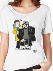 Jay & Silent Bob Women's Relaxed Fit T-Shirt