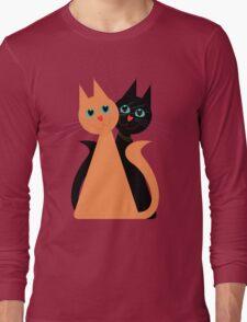 Feline Friends Long Sleeve T-Shirt