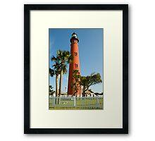 Ponce de Leon  Inlet Lighthouse  Framed Print
