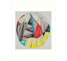 Require Inspire, Meditation Mandala Series Art Print