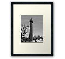Little Sable Light Framed Print