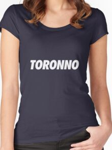 Toronno Women's Fitted Scoop T-Shirt