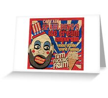Capt. Spaulding's Ice Cream Emporium Greeting Card