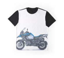 Illustrated Graphic Tee - BMW R1200GS Adventure  Graphic T-Shirt