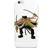 sword zorro iPhone Case/Skin