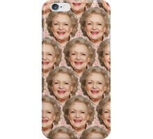 Miss Betty White iPhone Case/Skin