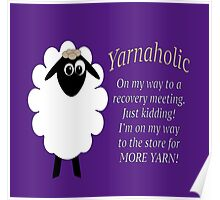 Yarnaholic lamb is on the way to rehab Poster