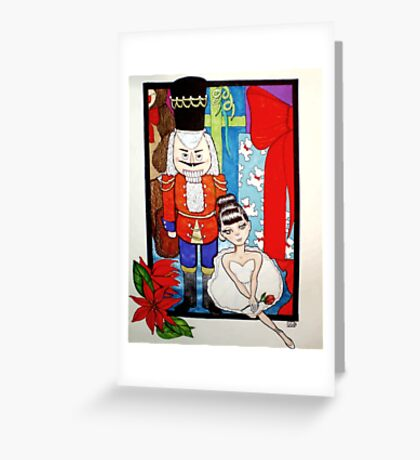 The Nut Cracker Greeting Card
