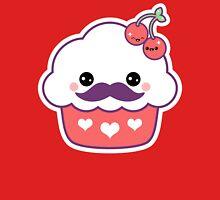 Mustachino Cherries Womens Fitted T-Shirt