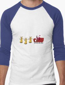 Dalek Wonderland Men's Baseball ¾ T-Shirt