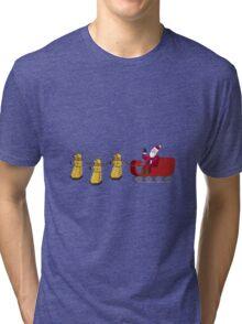 Dalek Wonderland Tri-blend T-Shirt