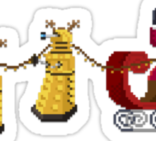 Dalek Wonderland Sticker