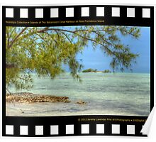 Nostalgia Collection • Islands of The Bahamas • Coral Harbour on New Providence Island Poster