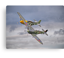 The Old Flying Company -  Ferocious Frankie, And MH434 Canvas Print