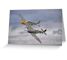 The Old Flying Company -  Ferocious Frankie, And MH434 Greeting Card