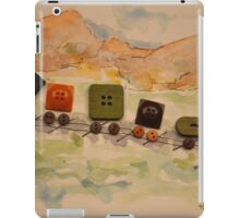 Button Train  iPad Case/Skin