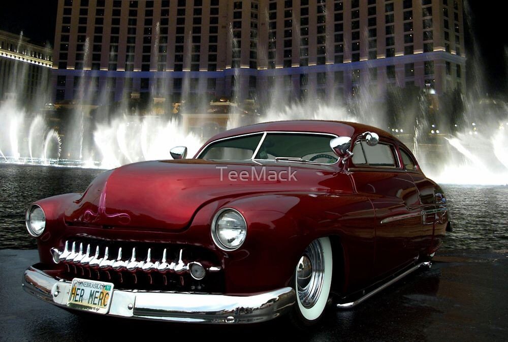 """Her Merc"" 1950 Mercury Low Rider by TeeMack"