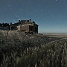 South Burra Homestead in Moonlight by pablosvista2