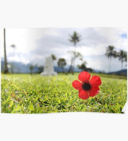 Kokoda Memorial Poppy Poster
