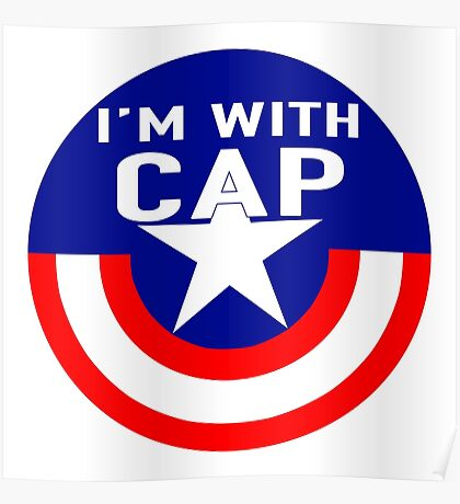 I'm With CAP Poster