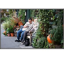 Waiting For a Table at the Spotted Pig Photographic Print