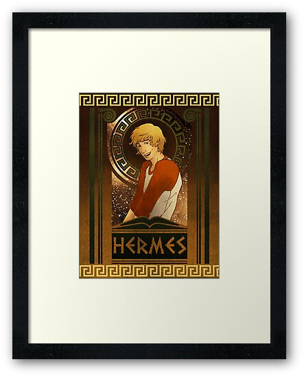 Olympia Heights: Hermes by Christadaelia