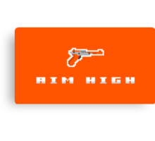 """Aim High"" - NES Zapper  Canvas Print"