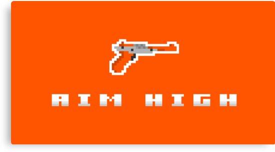 """Aim High"" - NES Zapper  by PixelBlock"