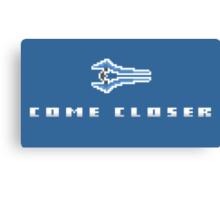 """Come Closer"" - Halo Energy Sword  Canvas Print"