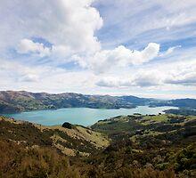 Akaroa Harbour, New Zealand by LeahK
