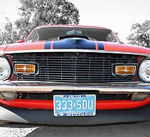 Full Frontal - 1970 Mach 1 Mustang by tonyshaw