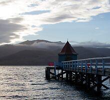 Jetty, Akaroa Harbour, New Zealand by LeahK