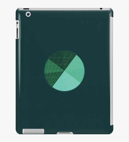 Green and blue world iPad Case/Skin