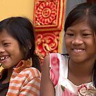 Cambodian Kids by Marylou Badeaux