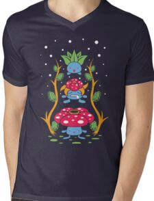 Kanto Forest Mens V-Neck T-Shirt