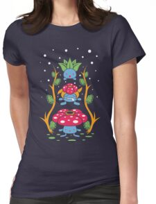 Kanto Forest Womens Fitted T-Shirt