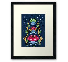 Kanto Forest Framed Print